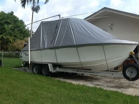 aluminum boat cover diy boat cover the hull truth boating and fishing forum