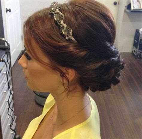 Wedding Hairstyles Updos With Headband by Best 25 Updo With Headband Ideas On Headband