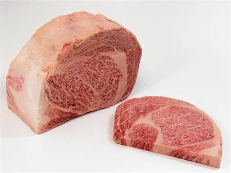 Wagyu Rib Eye japanese miyazaki wagyu 12oz ribeye steak beef style