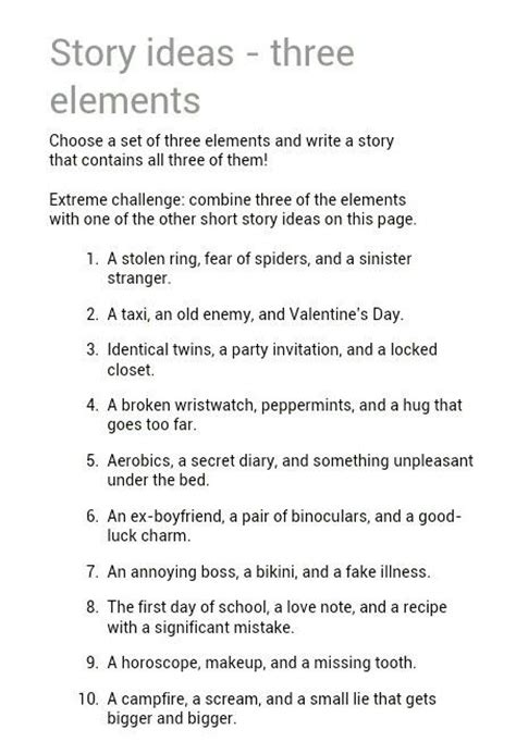 themes for a mystery story best 25 short story prompts ideas on pinterest writing