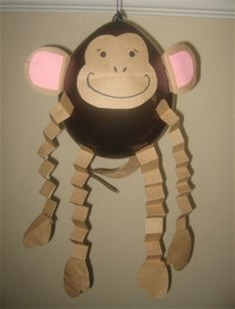 How To Make A Monkey Out Of Paper - 1000 images about monkey baby shower on