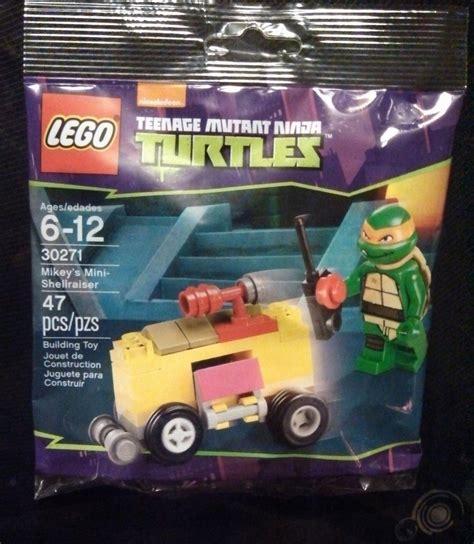 Lego Polybag Tmnt Mikey S Mini Shellraiser Set 30271 30271 mikey s mini shellraiser brickipedia the lego wiki
