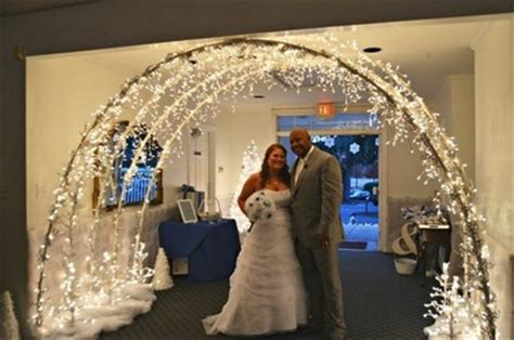 how to make light arches diy archway weddings style and decor do it yourself