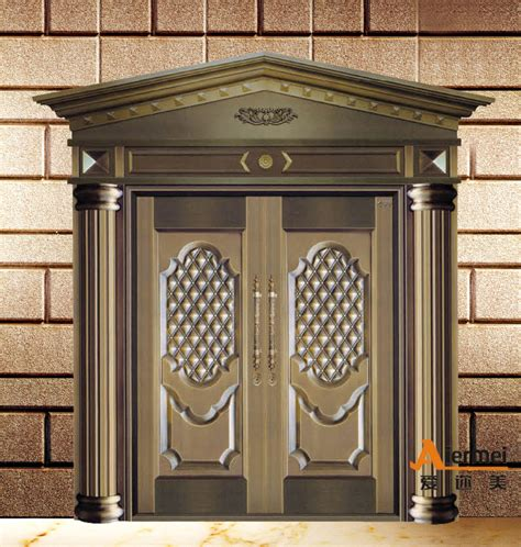 made in china good quality front double door designs