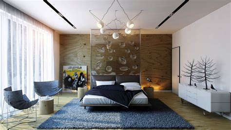 Bedroom Feature Wall Designs Headboard Feature Wall Interior Design Ideas