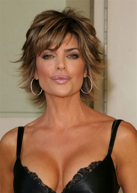 hairstyles for large glasses lisa rinna hair and makeup pinterest