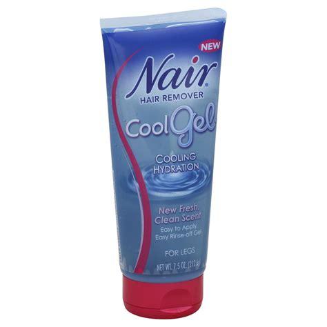 nair hair remover cool gel for legs 7 5 oz 212 6 g
