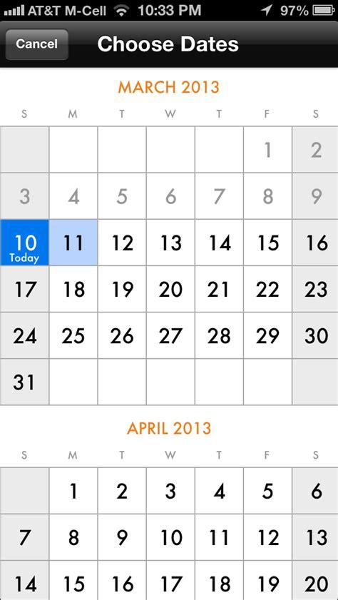 Calendar Mobile Calendar Screenshots Mobile Patterns