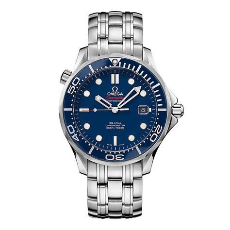 omega seamaster professional s blue bracelet