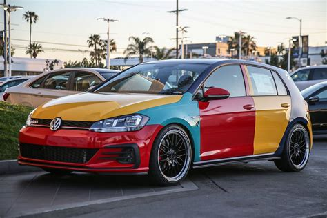 volkswagen harlequin the harlequin vw golf is back sort of hagerty articles