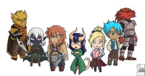 Anime 5e by Dnd Chibi By Hitokirichibi On Deviantart