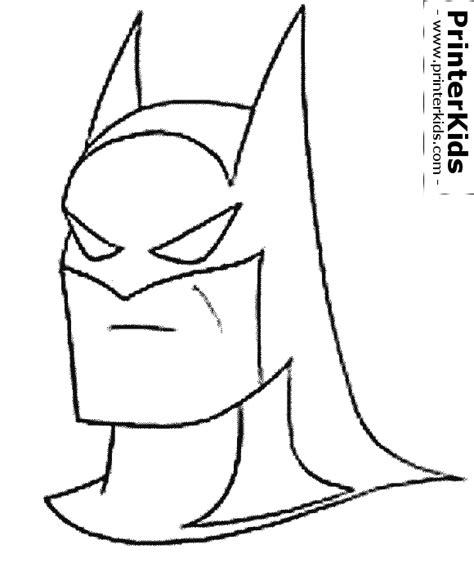 batman mask coloring pages printable free coloring pages of batman mask
