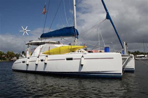 catamaran under sail for sale 2008 leopard 40 sail boat for sale www yachtworld