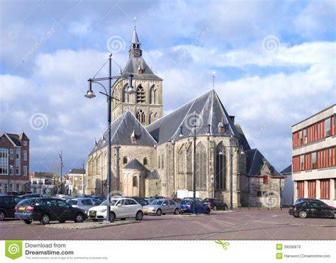 oldenzaal niederlande alte kirche in oldenzaal die niederlande redaktionelles