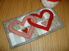 free mug rug patterns free quilt block patterns for valentines day hearts