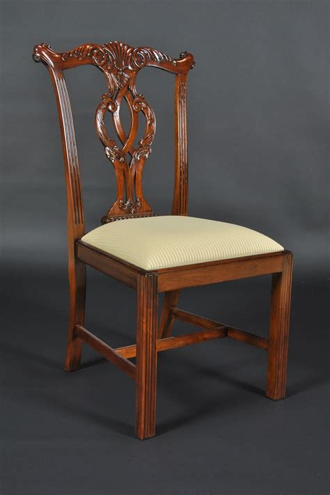 Chippendale Dining Room Furniture Chippendale Leg Dining Room Chairs Philidelphia Style Cambridge Chairs