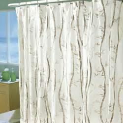 bamboo shower curtain bamboo valance photo