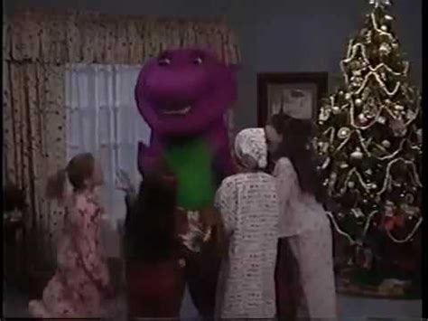 barney and the backyard gang i love you barney the backyard gang waiting for santa part 1 youtube