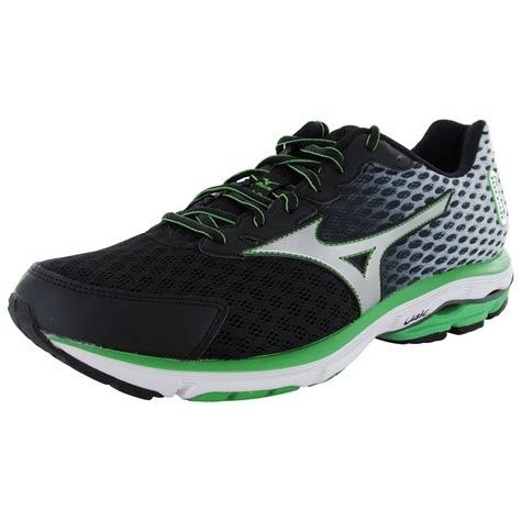 wave rider shoes mizuno mens wave rider 18 running sneaker shoes ebay