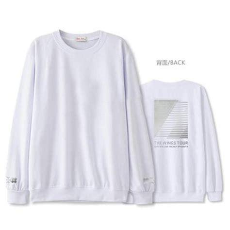 Bts Wings Sweater kpop bts wings 2017 sweater merchandise sweat shirt