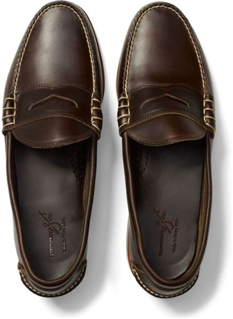 rancourt beefroll loafer club monaco rancourt beefroll loafer in brown for