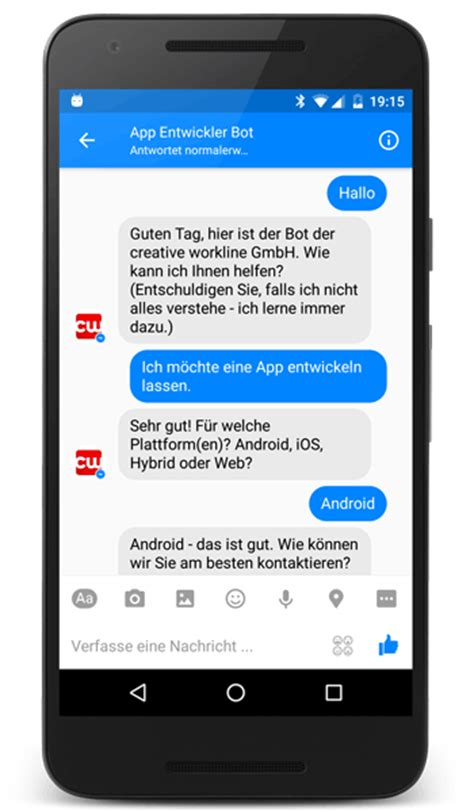 developing a chatbot for facebook messenger with wit ai