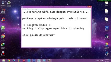 tutorial internet gratis ssh di android tutorial sharing wifi ssh di android dan pc laptop youtube