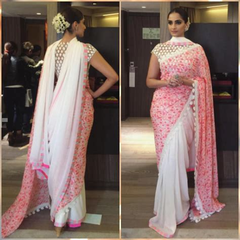 Traditional Saree Draping Styles 10 Times Sonam Kapoor Made Us Really Want To Wear A Sari