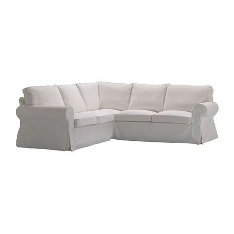 white slipcovered sofa ikea ektorp corner sofa 2 2 slipcover blekinge white ikea
