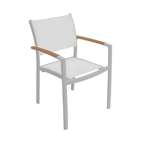 Aluminium Dining Chairs Sono Sling Dining Chair With Aluminum Frame By Tropitone Furniture Leisure