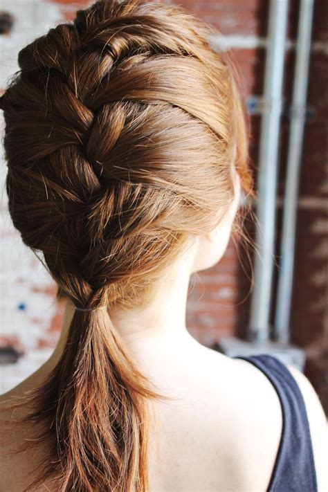 french braids and weave hairstyles how to style a classic french braid a beautiful mess
