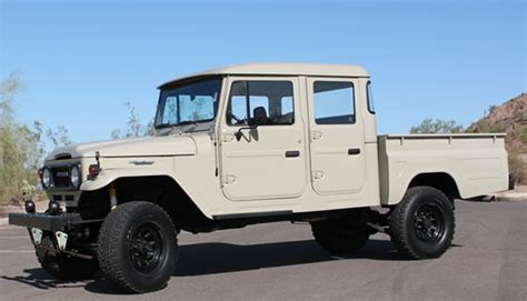 Toyota Fj45 For Sale For Sale 1963 Toyota Land Cruiser Fj45 Crew Cab Grab A