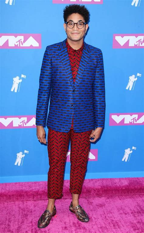 bryce vine family 2018 mtv vmas check out the most trendy men on the red