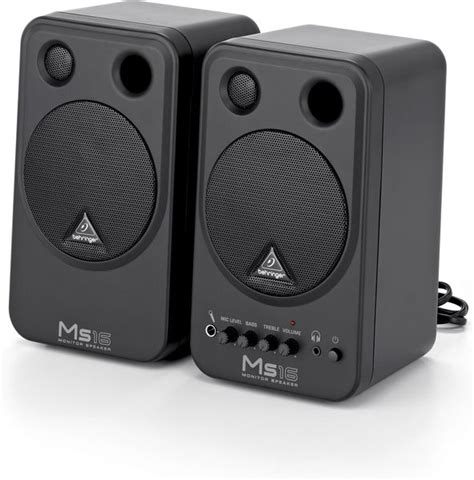 Speaker Monitor Behringer Ms16 16 Watt behringer ms16 aktivlautsprecher