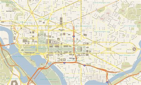 dc usa map maps of the usa the united states of america map