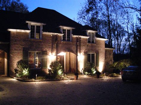 House Outdoor Lighting Ideas Landscape Lighting Ideas Inviting Serene Outdoor Atmosphere Amaza Design