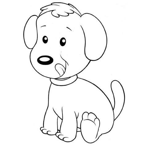 imagenes para colorear y dibujar imagenes de perros para colorear y dibujar