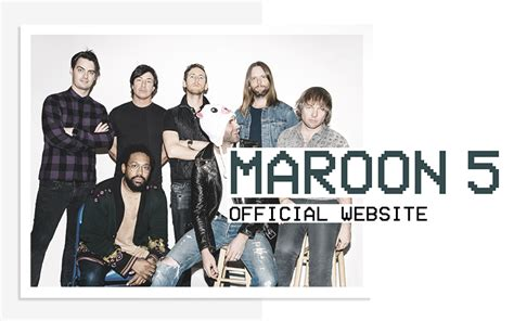 Maroon 5 Is Back by Shows Maroon 5