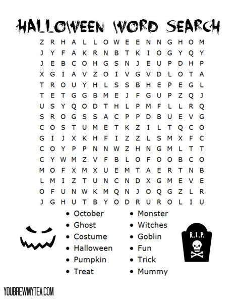 printable word search puzzles for grade 2 halloween word search for 1st graders 1000 ideas about