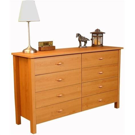 Lowboy Drawers by 8 Drawer Lowboy Dresser In Oak 3117 33oa