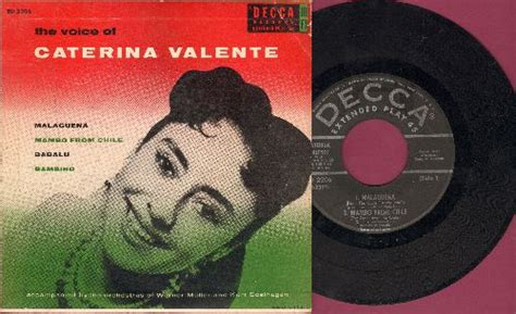 caterina valente babalu the voice of caterina valente malaguena mambo from chile