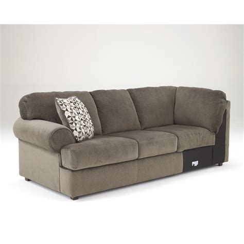 jessa sectional ashley jessa place 3 piece fabric left facing sectional in dune 39802 66 34 17 kit