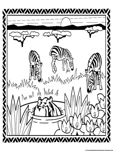 Free Zebra Without Stripes Coloring Pages Zebra Without Stripes Coloring Page