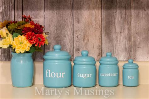 Unique Kitchen Canister Sets by Whimsical Kitchen Canisters