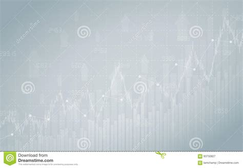 Couleur Gris Ros by Diagramme Financier Avec Graphe 233 Aire Histogramme Et