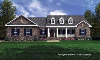 Cottage Style Porch For Ranch Homes ranch style house plans fantastic house plans online small house