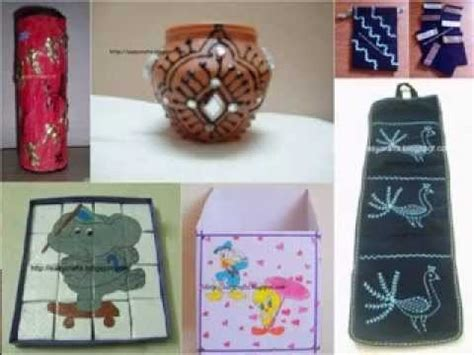 craft ideas for best out of waste best out of waste craft decor ideas my crafts and diy