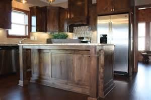 Alderwood Kitchen Cabinets custom knotty alder cabinets mc custom homes