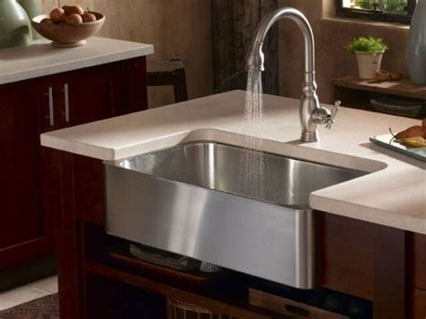 Farmhouse Kitchen Faucets by Which Kitchen Sink Is Right For You
