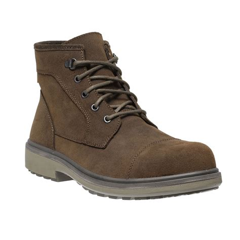 lightweight safety boots for parade oslo lightweight executive mens smart brown leather